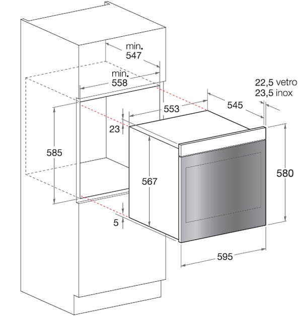 תנור אפייה Scholtes BC199DP