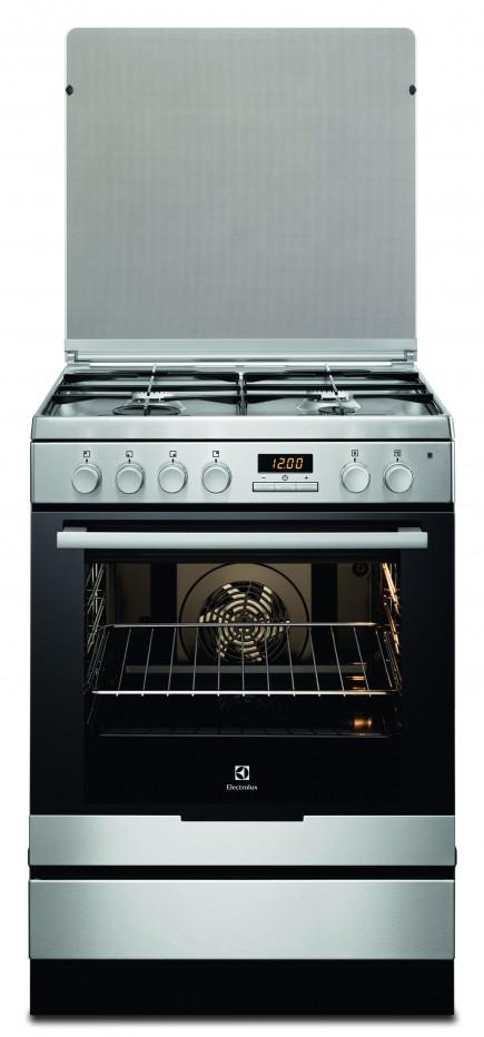 תנור משולב כיריים Electrolux EKK6430AMX