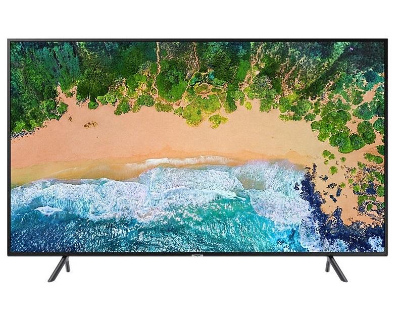 מסך לד 4K Smart TV UHD בעברית מחברת Samsung  UE55NU7093